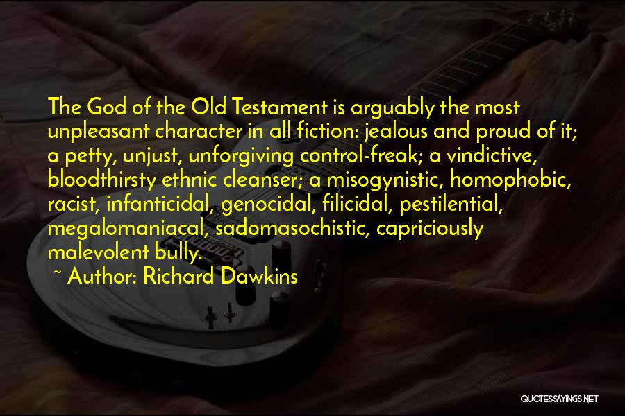 Religion In The Bible Quotes By Richard Dawkins