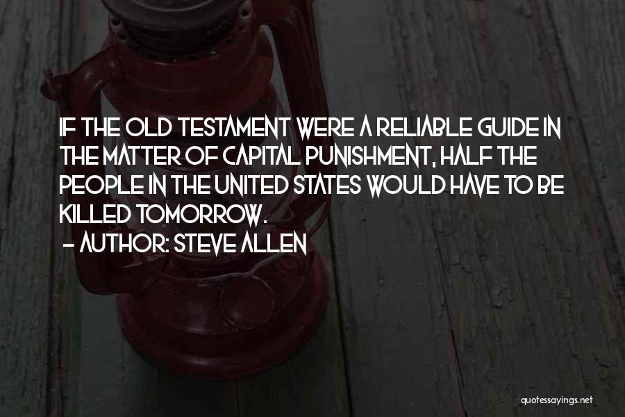 Religion In The Bible Quotes By Steve Allen