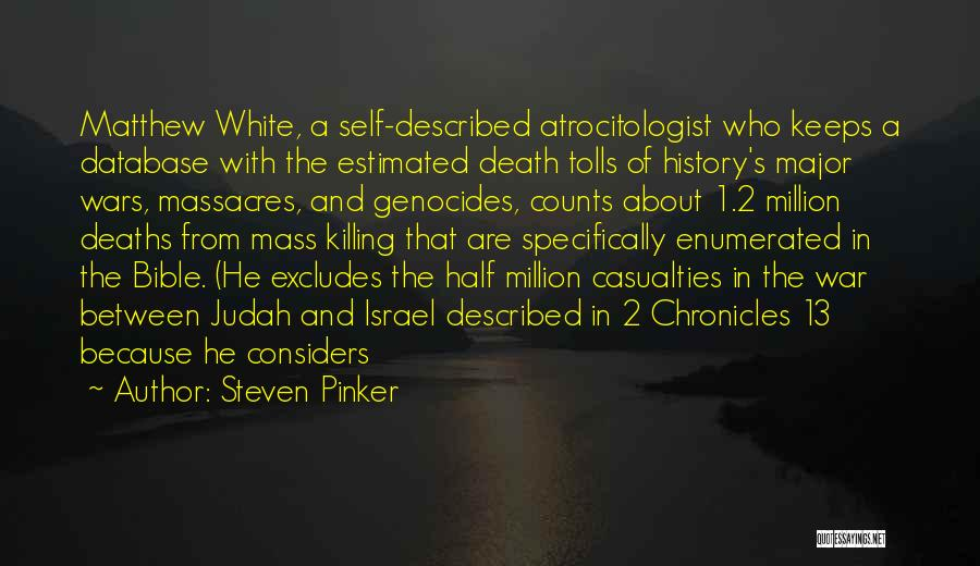 Religion In The Bible Quotes By Steven Pinker