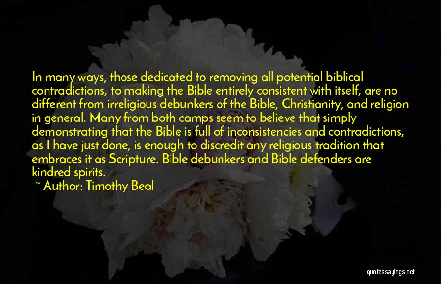 Religion In The Bible Quotes By Timothy Beal