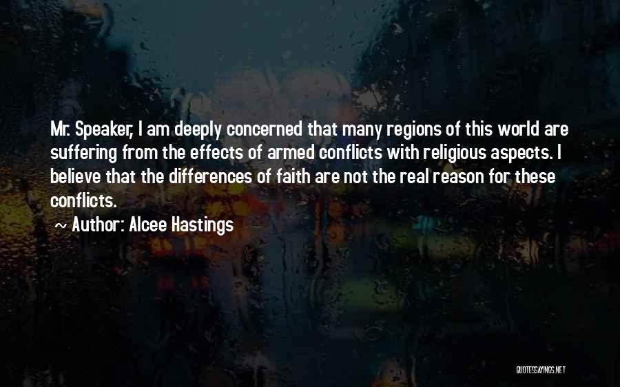 Religious Conflicts Quotes By Alcee Hastings