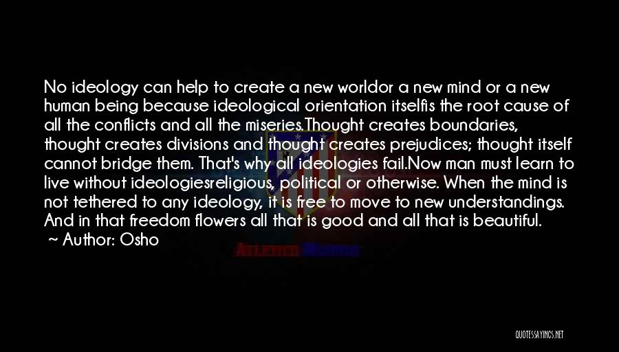 Religious Conflicts Quotes By Osho