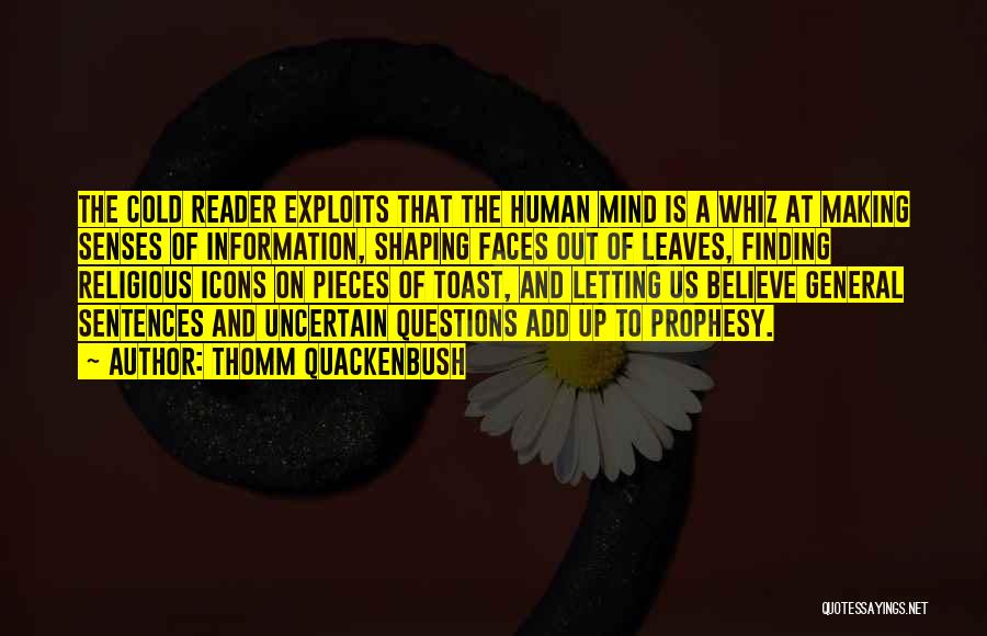 Religious Icons Quotes By Thomm Quackenbush