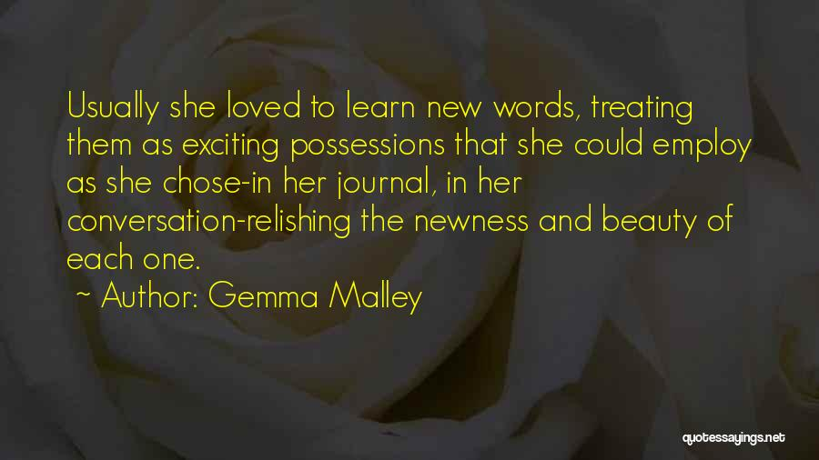 Relishing Quotes By Gemma Malley