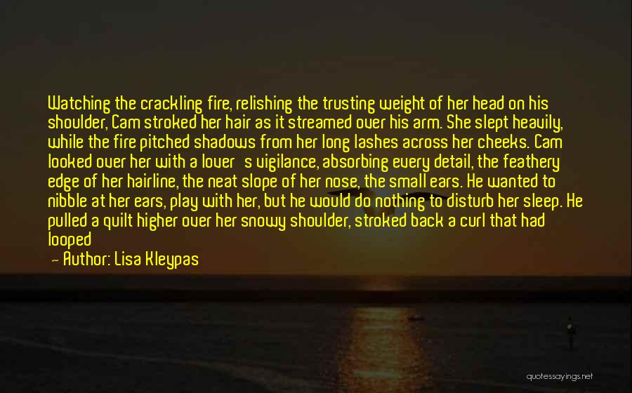 Relishing Quotes By Lisa Kleypas