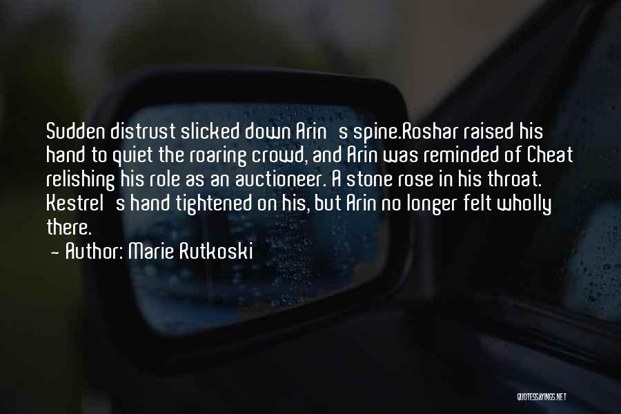 Relishing Quotes By Marie Rutkoski