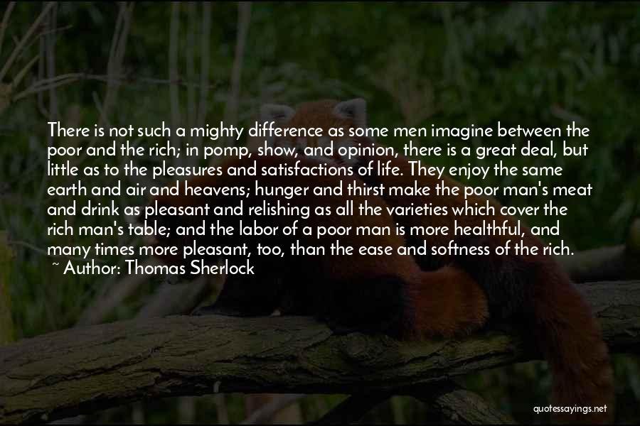 Relishing Quotes By Thomas Sherlock