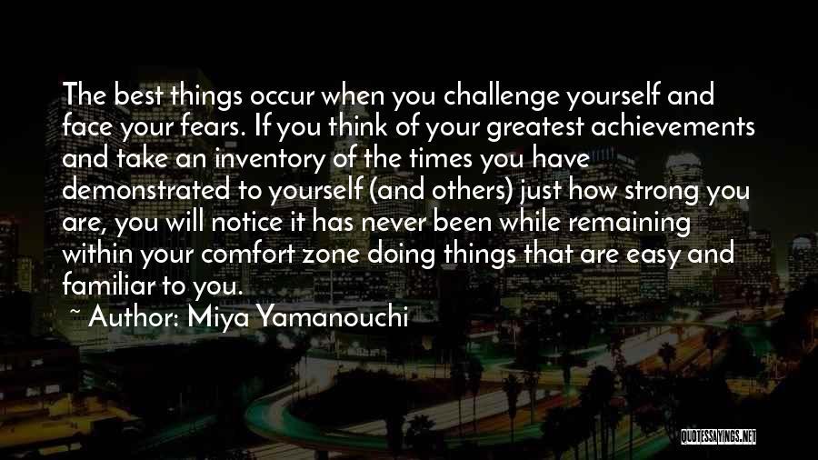 Remaining Strong Quotes By Miya Yamanouchi