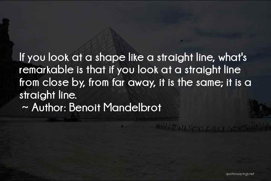 Remarkable Quotes By Benoit Mandelbrot