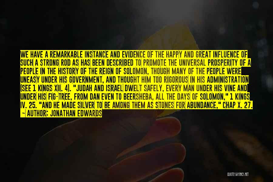 Remarkable Quotes By Jonathan Edwards
