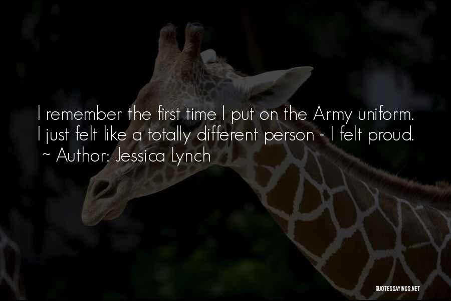 Remember The First Time Quotes By Jessica Lynch