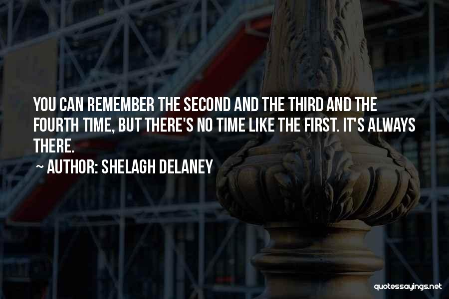 Remember The First Time Quotes By Shelagh Delaney