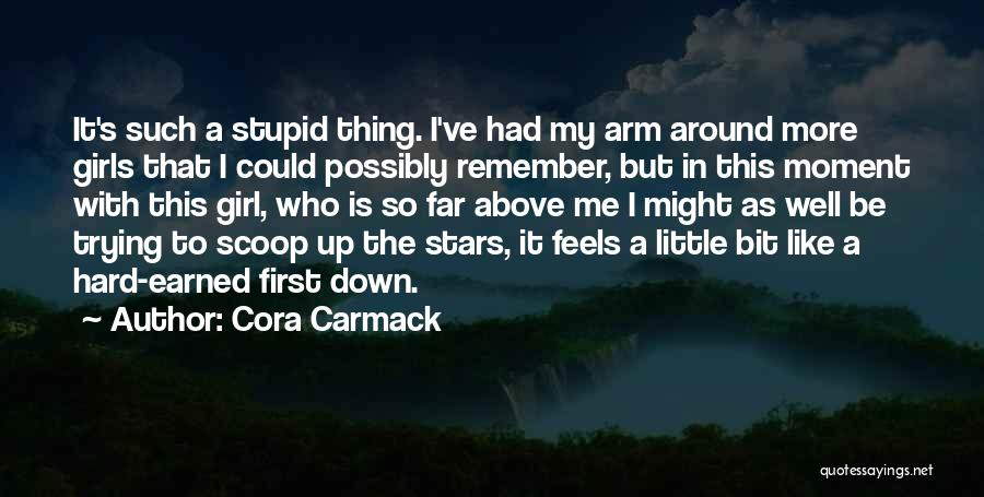 Remember The Moment Quotes By Cora Carmack