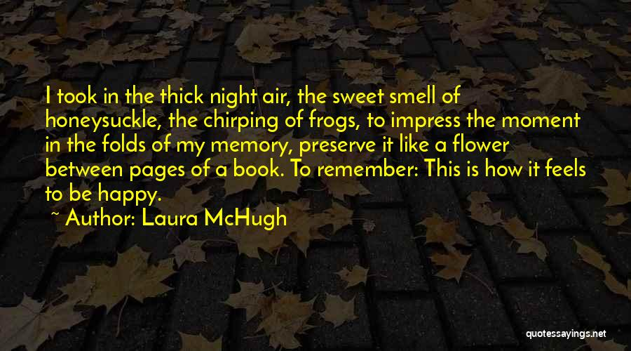 Remember The Moment Quotes By Laura McHugh