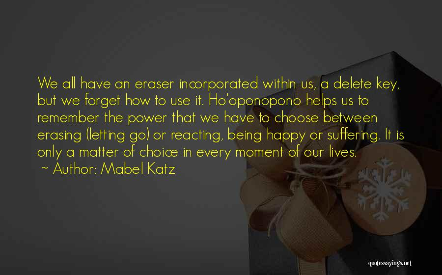 Remember The Moment Quotes By Mabel Katz