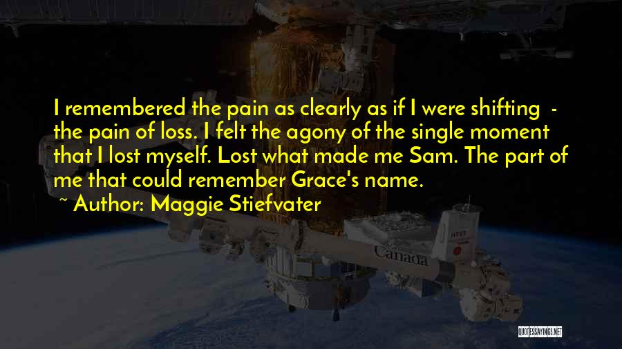 Remember The Moment Quotes By Maggie Stiefvater