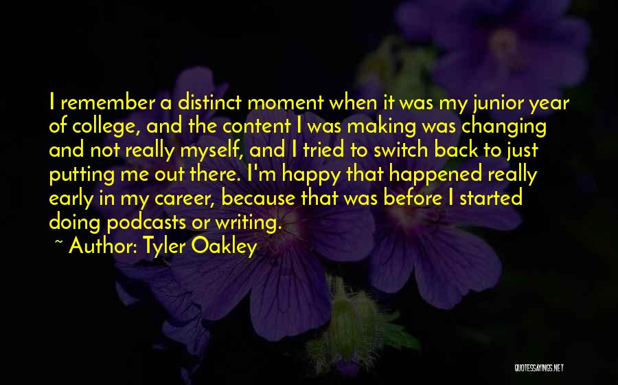 Remember The Moment Quotes By Tyler Oakley