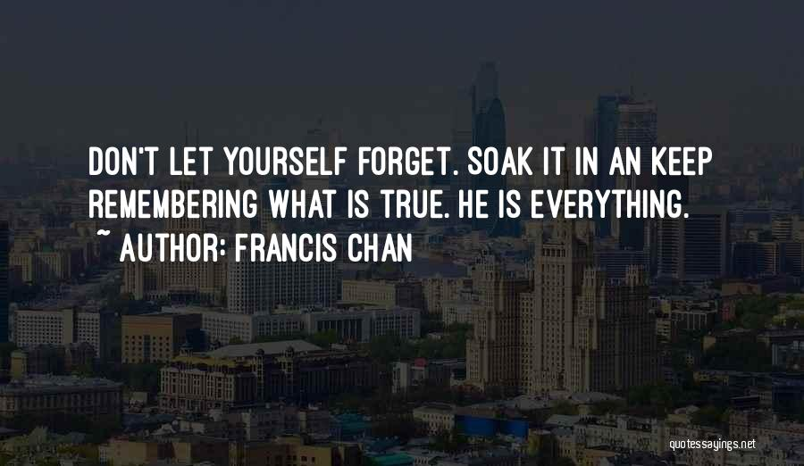 Remembering 9/11 Quotes By Francis Chan