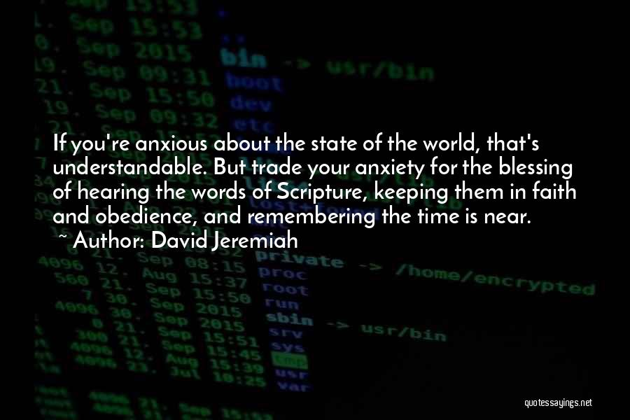 Remembering God Quotes By David Jeremiah