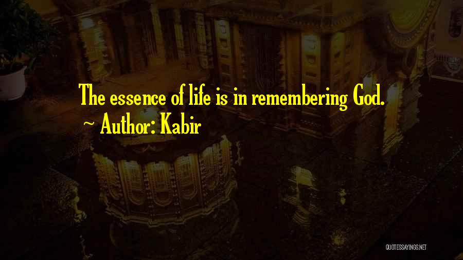 Remembering God Quotes By Kabir