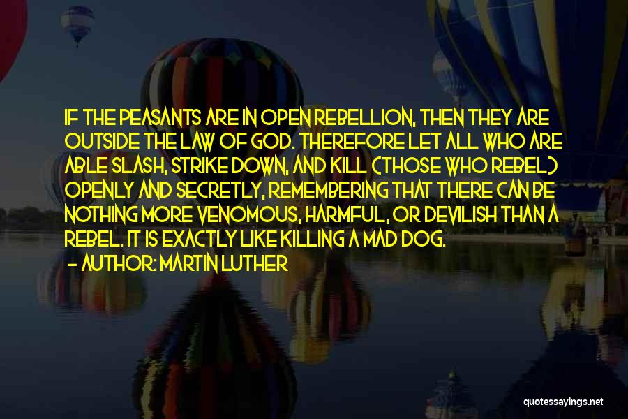Remembering God Quotes By Martin Luther