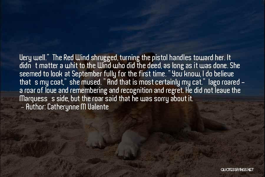Remembering My Love Quotes By Catherynne M Valente
