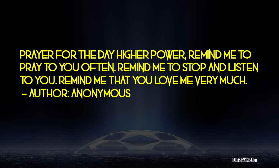 Remind Love Quotes By Anonymous