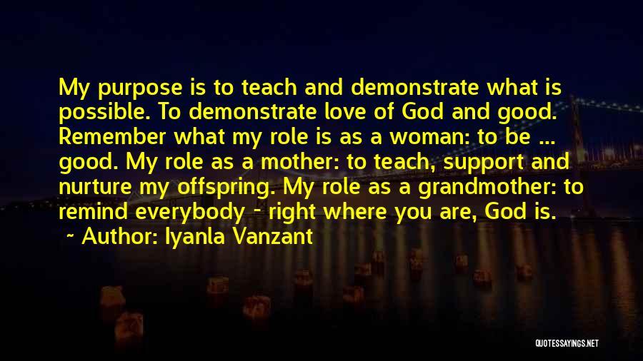 Remind Love Quotes By Iyanla Vanzant