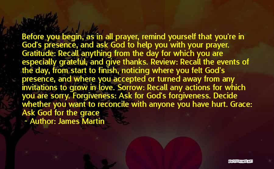 Remind Love Quotes By James Martin