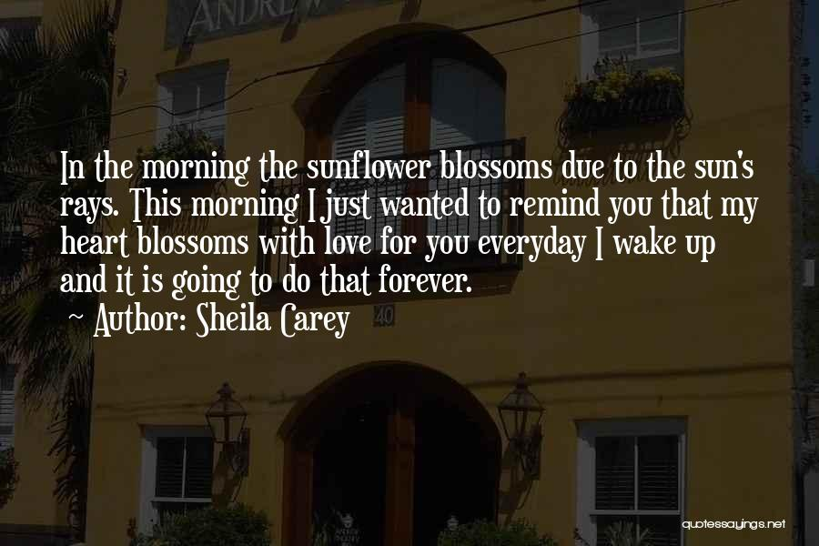 Remind Love Quotes By Sheila Carey