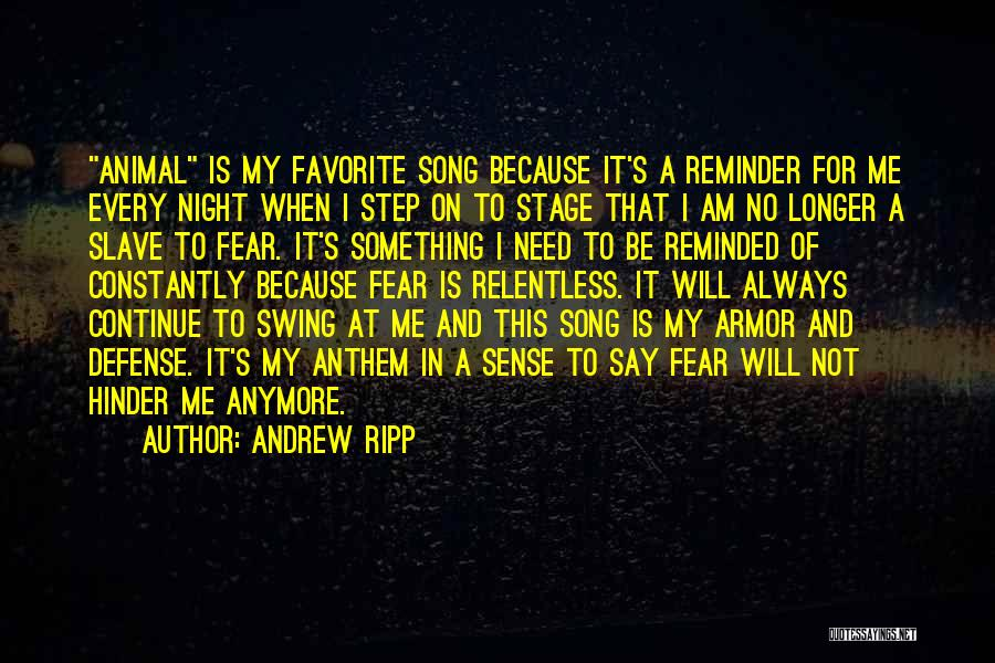 Reminder Quotes By Andrew Ripp