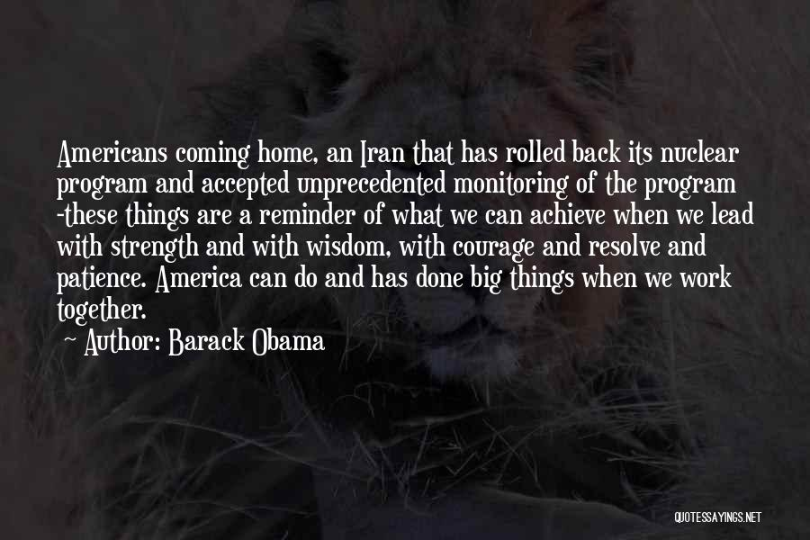 Reminder Quotes By Barack Obama