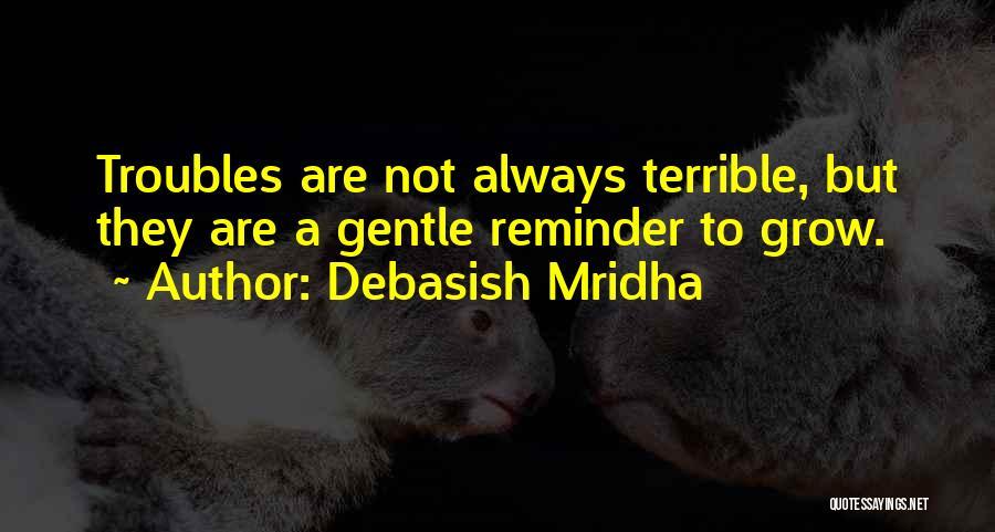 Reminder Quotes By Debasish Mridha