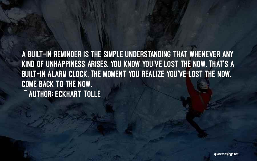 Reminder Quotes By Eckhart Tolle