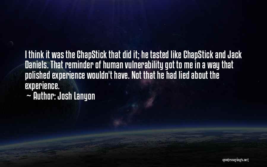 Reminder Quotes By Josh Lanyon