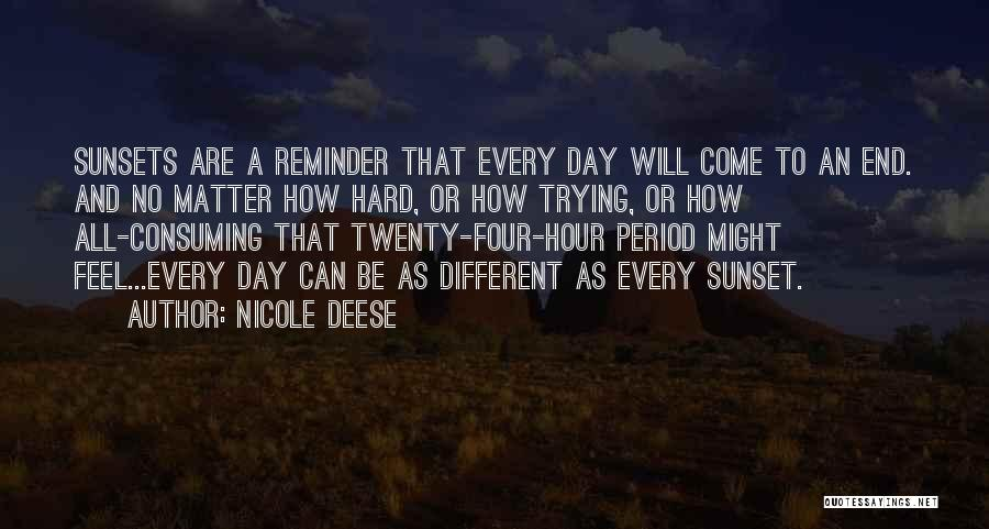 Reminder Quotes By Nicole Deese