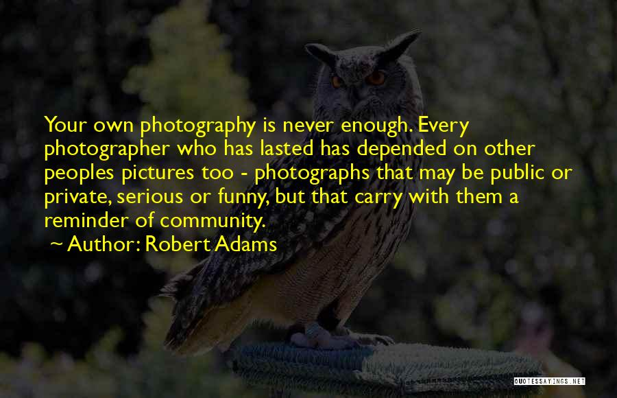 Reminder Quotes By Robert Adams