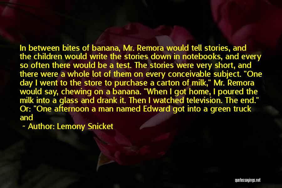 Remora Quotes By Lemony Snicket