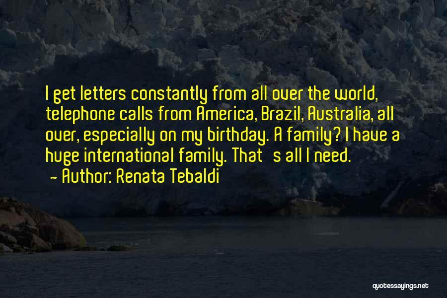 Renata Tebaldi Quotes 187080