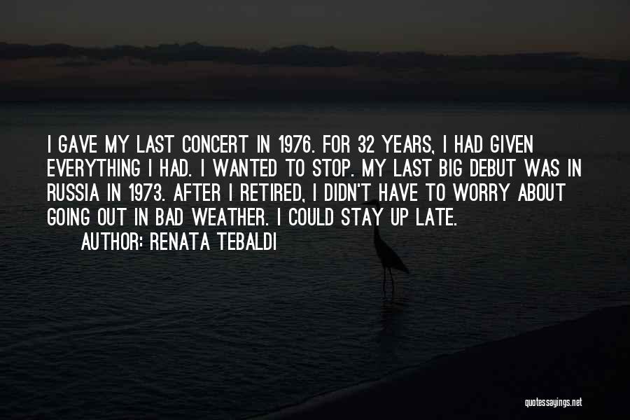 Renata Tebaldi Quotes 252501