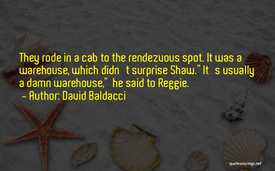 Rendezvous Quotes By David Baldacci