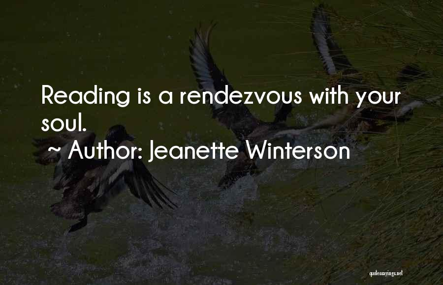 Rendezvous Quotes By Jeanette Winterson