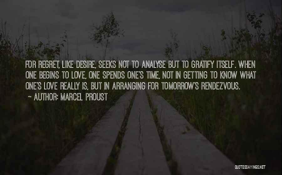 Rendezvous Quotes By Marcel Proust