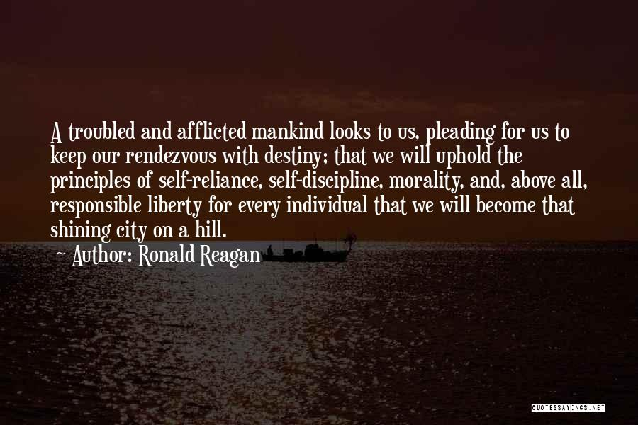 Rendezvous Quotes By Ronald Reagan