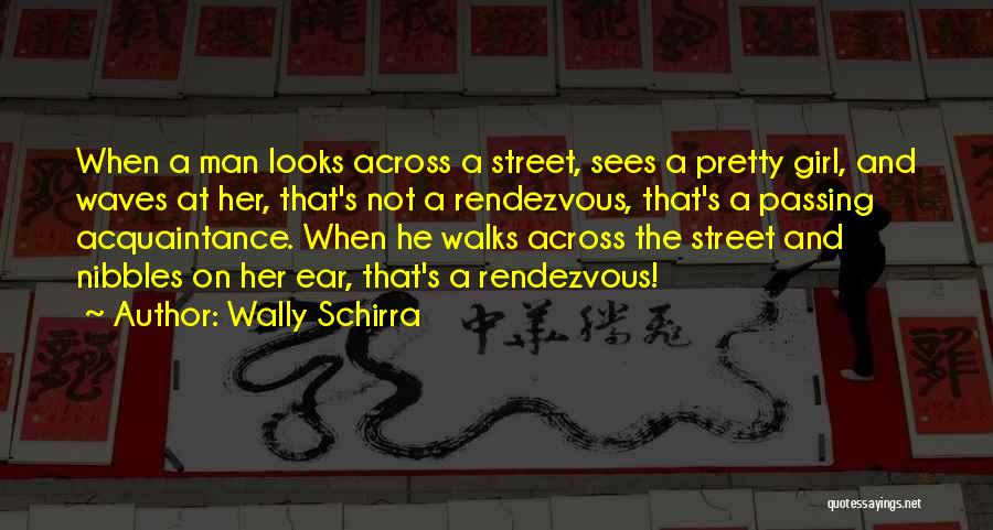 Rendezvous Quotes By Wally Schirra