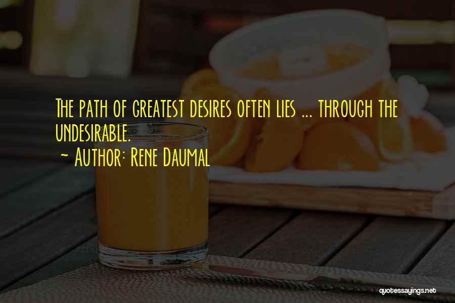 Rene Daumal Quotes 1089956