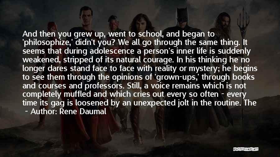 Rene Daumal Quotes 1127349