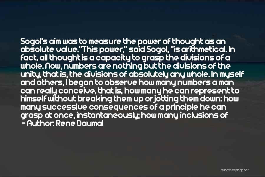 Rene Daumal Quotes 1348249