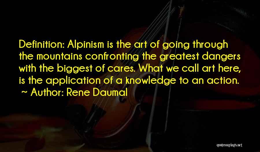 Rene Daumal Quotes 1587160