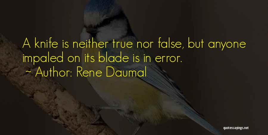 Rene Daumal Quotes 1771542